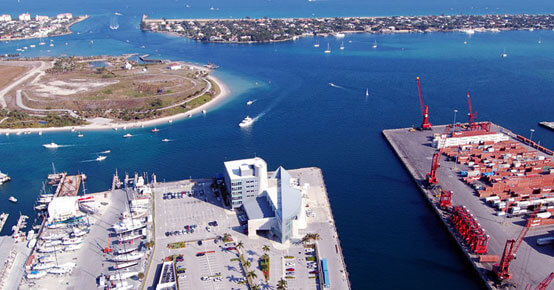 Cruise Transportation to Port Palm Beach - Black Car Service Near Me