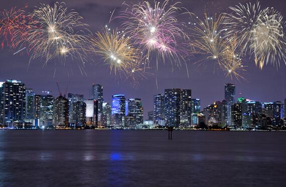 Celebrating - New Year's Eve 2019