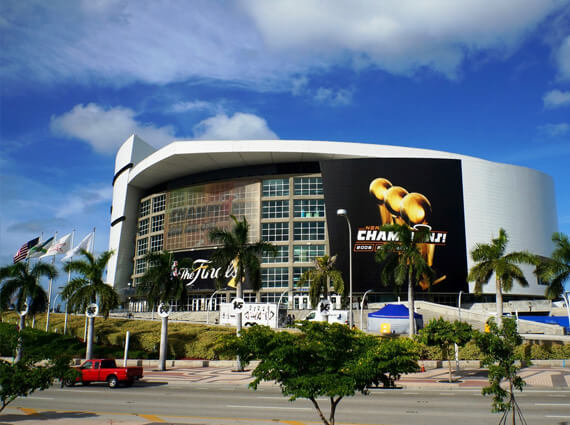 Car Service to Sun Life Stadium, American Airlines Arena - Driven Miami
